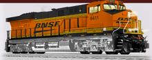 Pre-order for Lionel Legacy BNSF ES-44  diesel, 3 rail