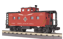 MTH Railking Scale EL northeastern  style Caboose, 3 rail