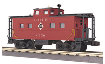 MTH Railking Scale Erie northeastern  style Caboose, 3 rail