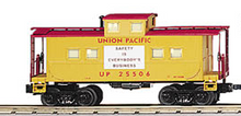 MTH Railking Scale UP northeastern  style center cupola Caboose, 3 rail