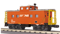 MTH Railking Scale NS northeastern  style Caboose, 3 rail