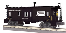 MTH Railking Scale PC/NS Hertiage Bay Window Caboose, 3 rail