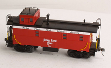MTH Premier NKP rivited steel offset cupola Caboose , 3 rail