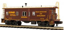 MTH Premier NS track Inspection  Bay Window Caboose, 3 rail