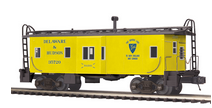 MTH Premier D&H (yellow)  Bay Window Caboose, 3 rail