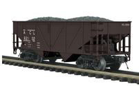 MTH Premier ACL 2-Bay Composite Hopper w/Coal Load, 3 rail