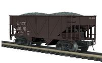 MTH Premier ACL 2-Bay Composite Hopper w/Coal Load, 3 rail