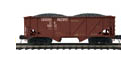 MTH Premier UP 2-Bay Composite Hopper w/Coal Load, 3 rail
