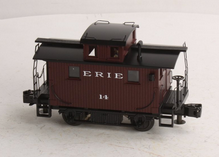 MTH Premier Erie  brown Bobber Caboose #14 , 3 rail