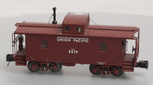 MTH Premier UP  N-6B style wood caboose, 3 rail