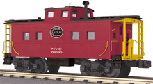 MTH Railking scale NYC (red) Center Cupola Northeastern style Caboose, 3 rail