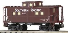 MTH Railking scale SP (brown) Center Cupola Northeastern style Caboose, 3 rail