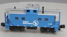 MTH Railking scale GN (blue) Center Cupola Northeastern style Caboose, 3 rail