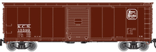 Atlas O KCS USRA steel 40' box car, 3 rail or 2 rail