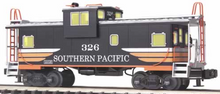 MTH Premier SP (black widow) extended vision Caboose, 3 rail