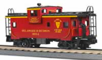 MTH Premier D&H extended vision Caboose, 3 rail