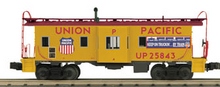 MTH Railking Scale UP (keep on truckin)  Bay Window Caboose, 3 rail