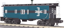 MTH Railking Scale B&M (McGinness colors)  Bay Window Caboose, 3 rail