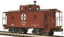 MTH Premier Santa Fe  N-6B style wood caboose, 3 rail