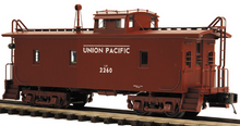MTH Premier UP (brown)  CA-1 woodside caboose, 3 rail