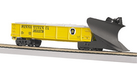 MTH Railking scale PRR heavy duty snow plow, 3 rail