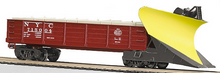 MTH Railking scale NYC heavy duty snow plow, 3 rail