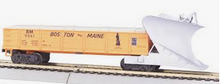 MTH Railking scale B&M heavy duty snow plow, 3 rail