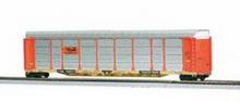 MTH Premier  Rio Grande/TTX Corrugated Auto Carrier, 3 rail