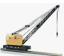 MTH Railking Scale UP American Crane car, 3 rail