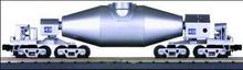 "MTH Premier  Silver Hot Metal ""bottle"" car, 3 rail"