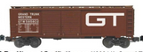 Weaver  GTW 1920's-1960's ARA 40' double door box car, 3 rail or 2 rail