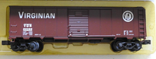 Weaver Virginian  1920's-1960's ARA 40' box car, 3 rail or 2 rail