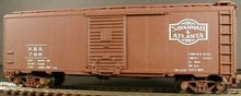 Weaver Savannah and Atlanta 1920's-1960's ARA 40' box car, 3 rail or 2 rail