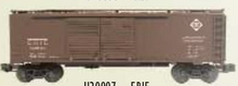 Weaver Erie  1920's-1960's ARA 40' Double door box car, 3 rail or 2 rail