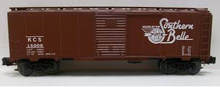 Weaver KCS  (southern belle) 1920's-1960's ARA 40' box car, 3 rail or 2 rail