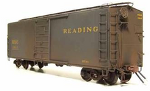 Weaver Reading green express 1920's-1960's ARA 40' box car, 3 rail or 2 rail