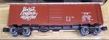 Weaver NH   (script, tuscan) 1920's-1960's ARA 40' box car, 3 rail or 2 rail