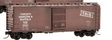 Crown (weaver)  TH&B  ARA 40' box car, 3 rail or 2 rail