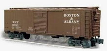 Crown (weaver)  Boston and Albany ARA 40' box car, 3 rail or 2 rail