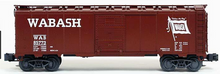 Crown (weaver) Wabash 1920's-1960's ARA 40' box car, 3 rail or 2 rail