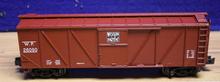 Crown (Weaver) Western Pacific outside braced (wood) box car, 3 rail or 2 rail