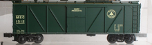 Crown Model Products (Weaver) Maine Central outside braced (wood) box car, 3 rail or 2 rail