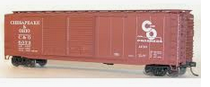 Weaver C&O  1920's-1960's ARA 40' Double door box car, 3 rail or 2 rail