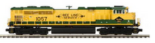 MTH Premier Reading SD-70ACe  diesel, 3 rail, P3.0