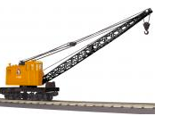 MTH Railking Scale GN American Crane car, 3 rail