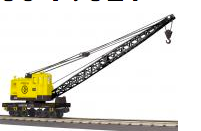 MTH Railking Scale USS American Crane car, 3 rail