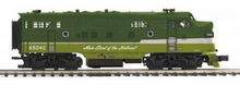 MTH Premier  NP  F-3A-B  diesels, 3 rail, w/Sound and smoke. proto 3.0