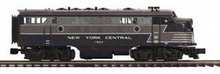 MTH Premier  NYC  F-7A-B  diesels, 2 rail, w/Sound and smoke. proto 3.0
