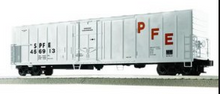 Lionel / Weaver SPFE (white) 57' Mechanical Reefer, 3 rail or 2 rail  diecast trucks/couplers