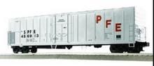 Lionel / Weaver SPFE (white) 57' Mechanical Reefer, 3 rail or 2 rail  diecast trucks/couplers